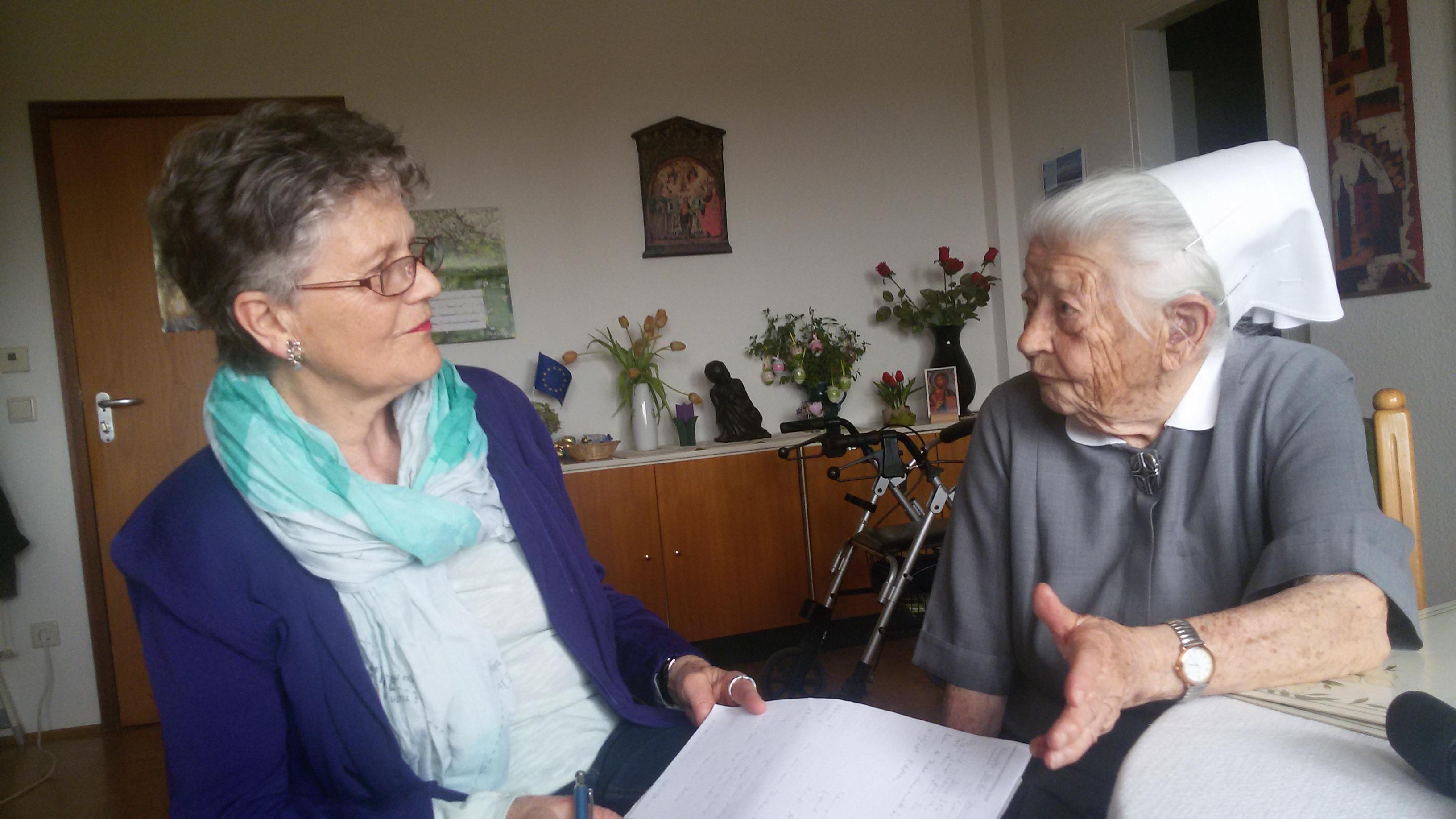 Zeitzeugin Diakonisse Martha Brunner