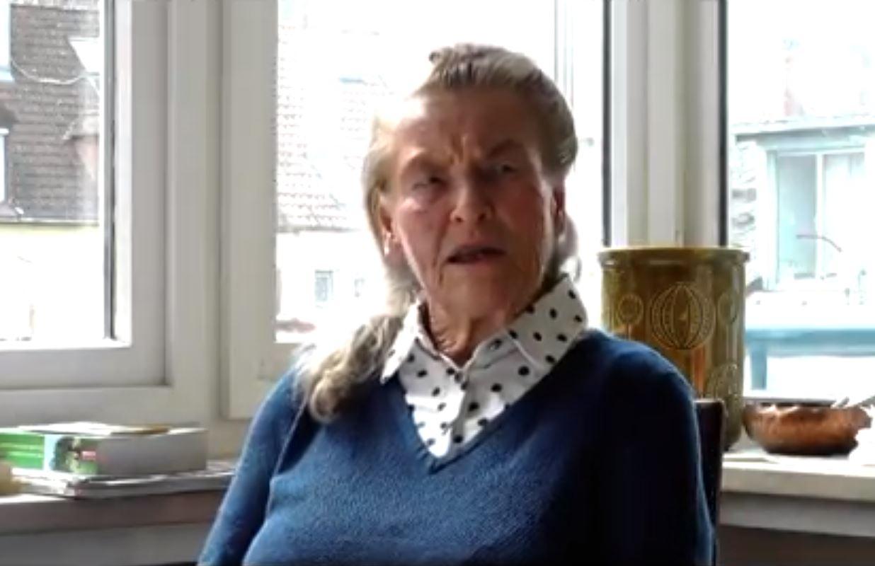 Zeitzeugin Freya Jossé